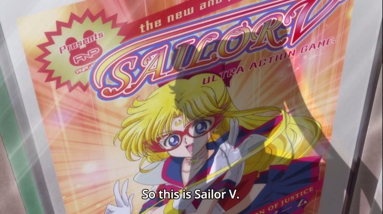 Because we could always do with a little more Sailor V